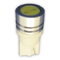 Plastik Soketli Ampul LED Beyaz T10 12V 1W 2 Adet