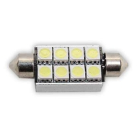 Sofit Ampul 8LED 42Mm Can Bus Beyaz