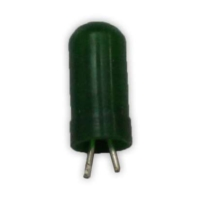 Gösterge Ampulü Yeşil Kıl Bacak 12V 1 2W 5 Adet