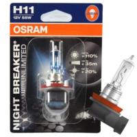 Far Ampulü H11 12V%110 Fazla Işık Osram 64211 NBU
