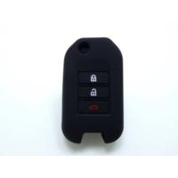 Gsk Honda Civic Anahtar Koruyucu Silikon Kılıf 3 Tuş (Siyah)