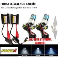 Forza H27 6000K Xenon Far Kiti İnce12 V
