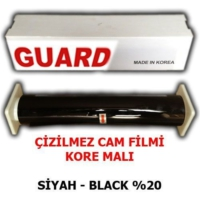 Guard Cam Filmi Çizilmez %20 Siyah ( Black ) 75Cm * 60M