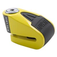 Auvray Alarmlı Disk Kilidi 6 mm 120 db Sarı-Siyah