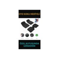 Carat 3d Havuzlu Oto Paspas siyah (OTO KOKU HEDİYELİ)