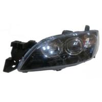 Ypc Mazda 3- Sd- 03/06 Far Lambası L Manuel Mercekli/Siyah/Sarı Reflektörlü (Eagle Eyes)