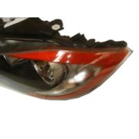 Ypc Bmw 3 Seri- E90- 05/09 Far Lambası L Siyah/Elektrikli (Sarı Reflektörlü) (Eagle Eyes)