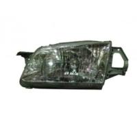 Ypc Mazda 323- Familia- 99/02 Far Lambası L Manuel Park Deliksiz (Şeffaf Camlı) H4 (Eagle Eyes)