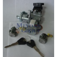 Ypc Mazda 323- Familia- 95/97 Kontak Kilit Seti (2'li Set) (Kontak/Kapı) (Termikli)