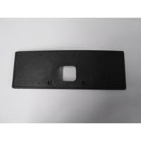 Ypc Mazda 6- Sd- 03/06 Ön Tampon Plakalık Plastiği Kısa Tip (Siyah)