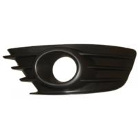 Ypc Citroen C4- 04/09 Sis Lamba Kapağı L Siyah (Sis Delikli)