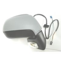Ypc Citroen C4 Picasso- 07/12 Kapı Aynası R Elektrikli/Isıtmalı/Sensörlü/Sinyalli/Gri Kapaklı 9 Pin