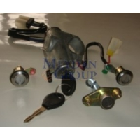Ypc Nissan Sunny- B13- 90/94 Kontak Kilit Seti (3Lü) (Kontak/Kapı/Bagaj)