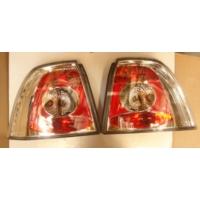 Ypc Opel Vectra- B- 99/02 Modifiye Stop Lambası R/L Set 2 Parça Nikelajlı/Kırmızı (Tyc)