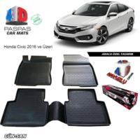 Honda Civic 4D Havuzlu Paspas 2016 ve Üzeri