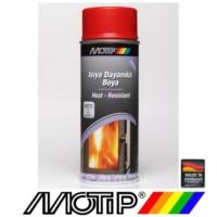 Motip 300°C Isıya Dayanıklı Kırmızı Boya 400 ml
