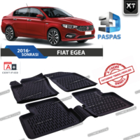 Xt Fiat Egea 3D Havuzlu Paspas 2015- Sonrası