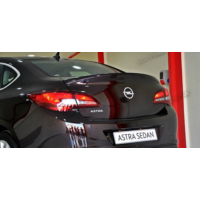 Xt Opel Astra J Sedan Plastik Bagaj Üstü Spoiler