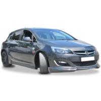 Xt Opel Astra J Hb Sport Model Yan Marşpiyel