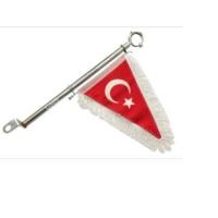 Gms Motosiklet Nikel Flama Türk Bayraklı