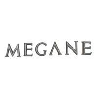 Renault Megane MK2 İçin Arka Megane Monogram Amblem Yazısı 8200073444