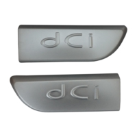 Renault Megane MK2 Scenic MK2 için 2 Adet Krom DCI Monogram Amblemi Yazısı 8200717150
