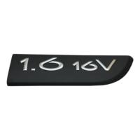 Renault Megane MK2 Scenic MK2 için Sağ Taraf Siyah 1.6 16V Monogram Amblemi Yazısı 8200209130