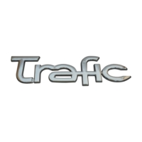 Renault Trafic İçin Krom Trafic Monogram Amblem Yazısı 8200112599