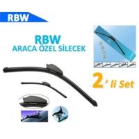 RBW FIAT GRANDE PUNTO Araca Özel Silecek Süpürgesi (SAĞ/SOL 2'li Set )