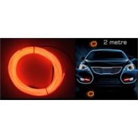Modacar 6Lı Paket Flexible Turuncu Tube Neon Kablo 2 Metre 378817