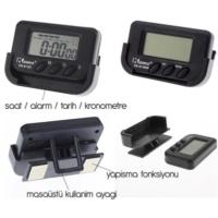Modacar 6Lı Paket Motorsiklet Dijital Saat Alarmtarihkronometre 75D016