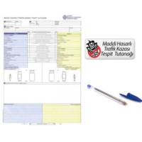 Modacar Trafik Kaza Tespit Tutanağı Kalemli 570072