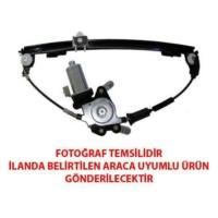 Tvet Peugeot Partner Ön Sağ Elektrikli Cam Krikosu Motorlu