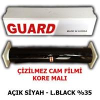 Tvet Cam Filmi Çizilmez %35 Açık Siyah ( Light Black ) 100Cm * 60M Guard