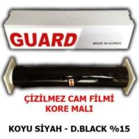 Tvet Cam Filmi Çizilmez %15 Koyu Siyah ( Dark Black ) 152Cm * 60M Guard