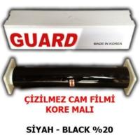 Tvet Cam Filmi Çizilmez %20 Siyah ( Black ) 50Cm * 60M Guard