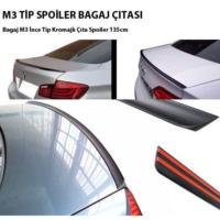 Tvet M3 Spoiler Bagaj Çıtası İnce Tip 3.5Cm - 135Cm