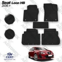 Tvet Seat Leon Oto Paspas 2006-2012 Siyah İmage