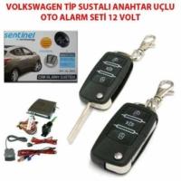 Tvet Sustalı Oto Alarmı Volkswagen Tip 12V Sentinel
