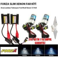 Tvet H3 8000K Xenon Far Kiti İnce12 V Forza