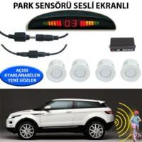 Tvet Park Sensörü Ekranlı Ses İkazlı Forza Beyaz Sensör