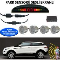 Tvet Park Sensörü Ekranlı Ses İkazlı Forza Gri Sensör
