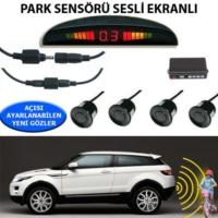 Tvet Park Sensörü Ekranlı Ses İkazlı Forza Siyah Sensör