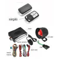 Modacar Oto Alarm Seti 34A001 6Lı Paket