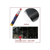 Modacar Çizilmez Açık Siyah Cam Filmi ( 100 Cm X 60 Mt - 60 Metrekare ) 6Lı Paket