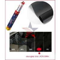 Modacar Koyu Siyah Cam Filmi ( 100 Cm X 60 Mt - 60 Metrekare ) 6Lı Paket