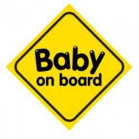 Automix Baby On Board Vantuzlu