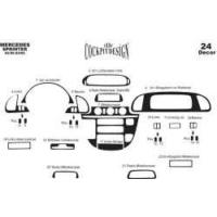 Mercedes Sprinter 02.00-04.06 Arası Alüminyum Kapl