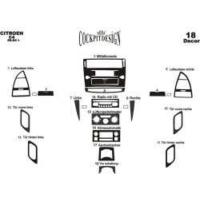 Citroen C4 06.04-09.10 Arası Alüminyum Kaplama Set