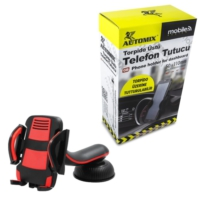 Automix Robot Telefon Tutucu Kırmızı Siyah